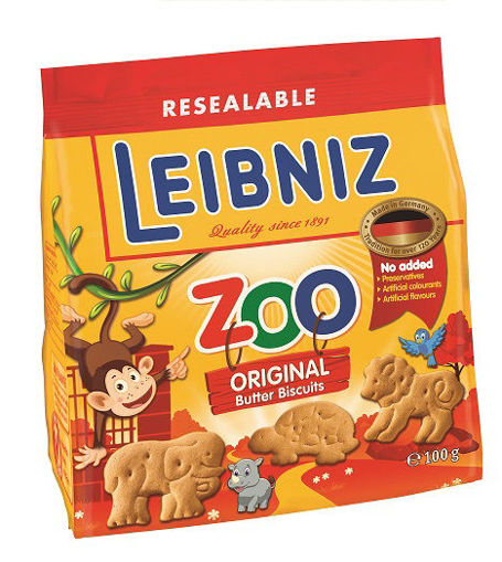 Изображение Печенье LEIBNIZ Zoo original, 100г