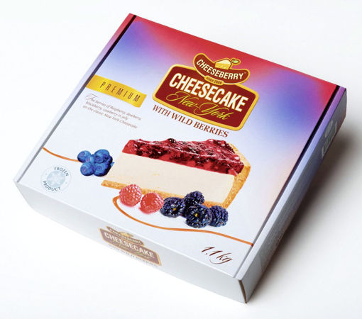 Изображение Чизкейк CHEESEBERRY New-York лесные ягоды, 1,1 кг